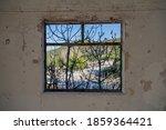 Shuttered Window Frame...