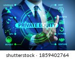 Small photo of Private equity investment business concept