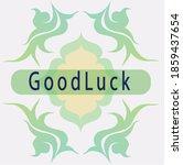Good Luck Vector Card  Good...