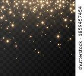 shine. light effect  golden... | Shutterstock .eps vector #1859457454