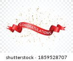 congratulations sign letters... | Shutterstock .eps vector #1859528707