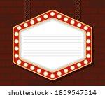 retro light hexagon figure... | Shutterstock .eps vector #1859547514