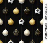 merry christmas football...   Shutterstock .eps vector #1859589511