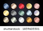 metal chrome circle buttons set.... | Shutterstock .eps vector #1859605501