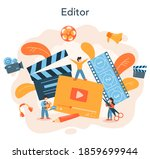video editor or designer....   Shutterstock .eps vector #1859699944