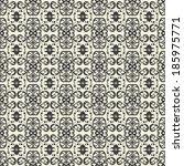 vector seamless pattern | Shutterstock .eps vector #185975771