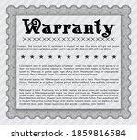grey warranty template.... | Shutterstock .eps vector #1859816584