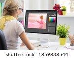 Graphic Design Artist Editing...