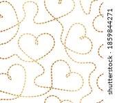 elegant golden hearts...   Shutterstock .eps vector #1859844271
