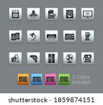 home appliances icons   ... | Shutterstock .eps vector #1859874151