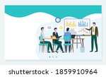 price negotiation business with ... | Shutterstock . vector #1859910964