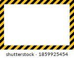 caution tape border design.... | Shutterstock .eps vector #1859925454
