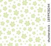 Floral Seamless Pattern  Light...