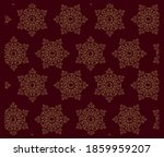 vector seamless pattern with... | Shutterstock .eps vector #1859959207