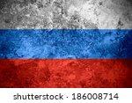 flag of russia or russian... | Shutterstock . vector #186008714