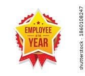 best employee of the year award ... | Shutterstock .eps vector #1860108247