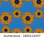 african wax print fabric ... | Shutterstock .eps vector #1860116347