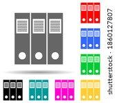 document folders multi color...