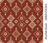kilim bohemian seamless pattern ...   Shutterstock .eps vector #1860154261