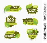 fresh natural product badge... | Shutterstock .eps vector #1860185011