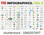 110 vector infographic... | Shutterstock .eps vector #1860207697