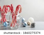 Candy Canes And Christmas Decor ...