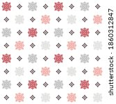 Seamless Pattern With Colored...