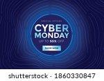 cyber monday sale design.vector ...   Shutterstock .eps vector #1860330847
