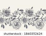vintage seamless pattern....   Shutterstock .eps vector #1860352624