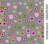 piggy | Shutterstock .eps vector #186040364