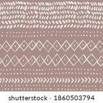 boho abstract seamless pattern...   Shutterstock . vector #1860503794