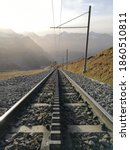 Cogwheel Train Rails  Jungfrau...