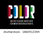 modern minimal style colorful...   Shutterstock .eps vector #1860512344