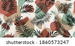 seamless pattern with geometric ... | Shutterstock .eps vector #1860573247