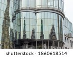 Reflections Of Cathedral On...