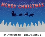 greeting card  poster with... | Shutterstock .eps vector #1860628531