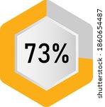 73  hexagon percentage diagram  ...