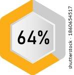 64  hexagon percentage diagram  ...