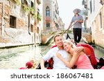 Romantic Travel Couple In...