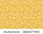 seamless floral pattern. ditsy... | Shutterstock .eps vector #1860677404