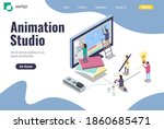 landing page for animation...