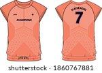 women sports t shirt jersey... | Shutterstock .eps vector #1860767881