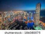 Dubai Marina At Blue Hour ...