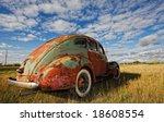 Vintage Car Rusting In A...