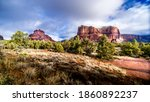 The Red Rock Sandstone...