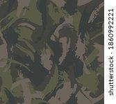 grunge camouflage  seamless ... | Shutterstock .eps vector #1860992221