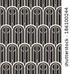 modern seamless pattern  | Shutterstock .eps vector #186100244