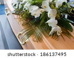 A Coffin With A Flower...