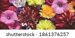 Bouquet Of Garden Flowers  Top...