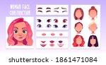 woman face constructor  avatar... | Shutterstock .eps vector #1861471084
